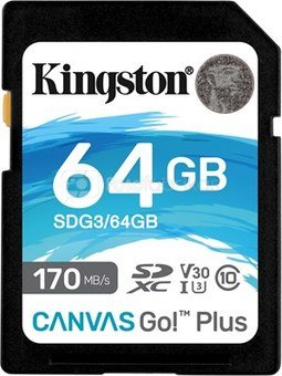 KINGSTON 64GB UHS-I SD Memory Card (Class 10)