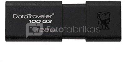 Kingston DataTraveler 100 G3 128 GB, USB 3.0, Black