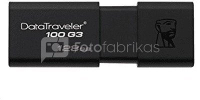 Kingston DataTraveler 100 G3 128 GB, USB 3.0, Black