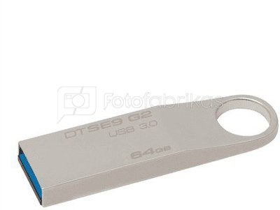 Kingston DataTraveler SE9 64GB USB 3.0 Metal