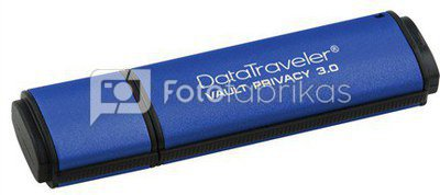 Kingston DataTraveler Vault Privacy 8 GB, USB 3.0, Blue