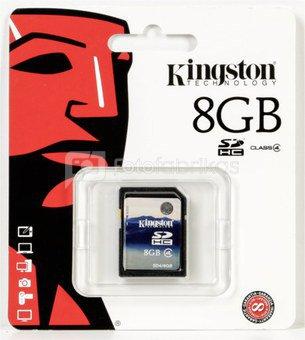 Kingston SDHC 8GB Class 6