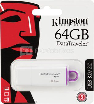Kingston USB 3.0 Stick 64GB DataTraveler G4
