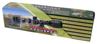 Konus Rifle Scope Konuspro 3-9x32 Including Mount