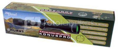 Konus Rifle Scope Konuspro 3-9x40
