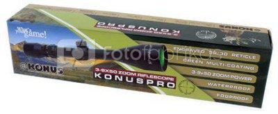 Konus Rifle Scope Konuspro 3-9x50