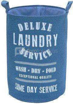 Krepšys iš tekstilės LAUNDRY D 40 X 55 cm rudas/pilkas/mėlynas Savex