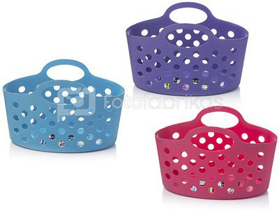 Krepšys plastikinis 30.5x21x19 cm AM6366 (3 spalvų) ddm