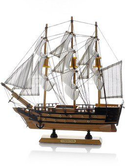 Laivas medinis 32x31 cm HR16086 SAVEX