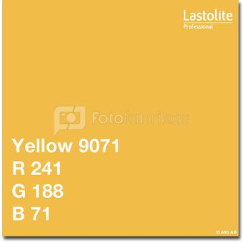 Lastolite background 2.75x11m, yellow (9071)