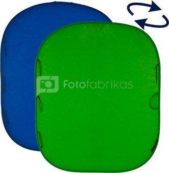 Lastolite background Chromakey 1.8x2.1m, blue/green (LA-5987)