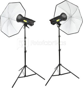 Lastolite Lumen 8 Umbrella Kit with 2 x F 400
