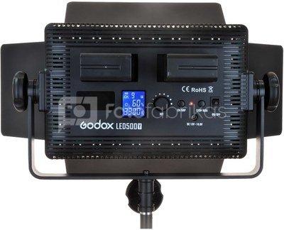 Godox LED 500Y Tungsten met barndoor
