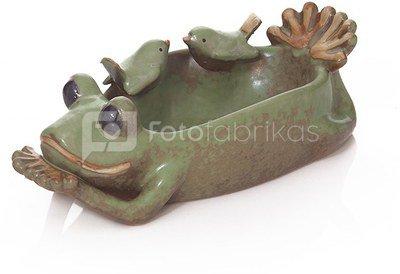 Lėkštė keramikinė su paukšteliais HR17554 L 23 cm SAVEX