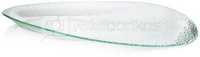 Lėkštelė stiklinė ovali YQM7310-2 46*25.5CM SAVEX