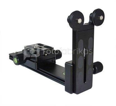 Caruba Lens Rails LR A1 (bracket voor tele objectief)   met steun