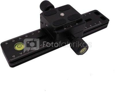 Caruba Lens Rails LR A2 (bracket voor tele objectief)   zonder steun