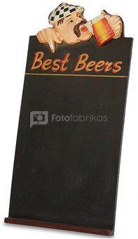 Lentelė užrašams medinė alaus barui 60x30x3 cm 103152