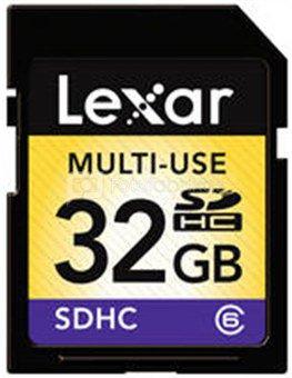 Lexar 32GB SDHC C6 Card