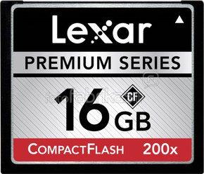 Lexar CF Card 16GB 200x Premium