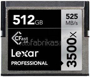 Lexar CFast 2.0 512GB 3500x Professional