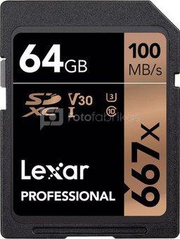 LEXAR PROFESSIONAL 667X SDHC/SDXC 128GB