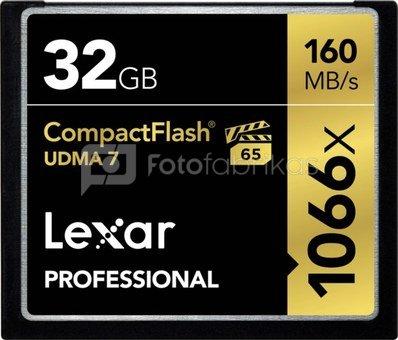 LEXAR PRO CF 1066X UDMA 7 (VPG-65) R160 32GB