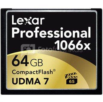Lexar CF Card 64GB 1066x Professional UDMA7