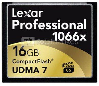 Lexar CF Card 16GB 1066x Professional UDMA7