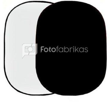 Linkstar Background Board R-1482WB White/Black 148x200 cm