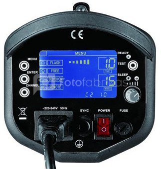 Linkstar Flash Head LF-750L with LCD Display