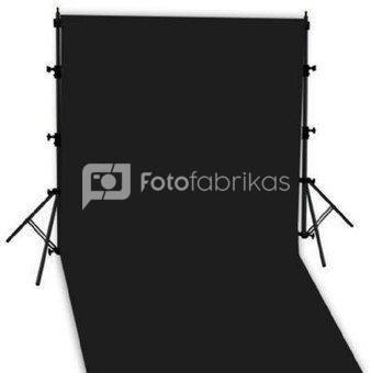 Linkstar Hintergrund System + Cloth Black 2,9 x 5m