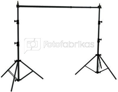 Linkstar Hintergrund System + Cloth Grey 2,9 x 5m