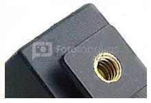 "Linkstar Hotshoe HS-25A3 With 1/4"" Female + Sync-Cord SC-253 2.5 mm"