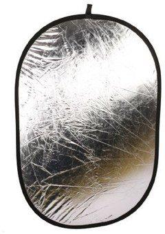 Linkstar Reflector 2 in 1 R-100150SW Silver/White 100x150 cm
