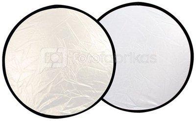 Linkstar Reflector 2 in 1 R-60SW Silver/White 60 cm