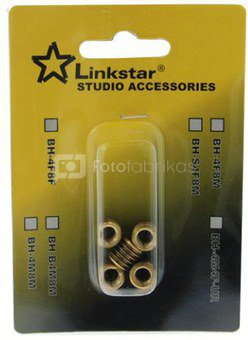 "Linkstar Spigot Adapter BH-S4F8M-5 1/4"" Female 3/8"" Male 5 Pcs."