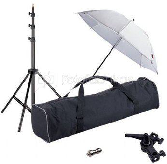 Linkstar Strobist Set with Umbrella UK-84T
