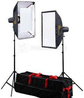 Linkstar Studio Flash Kit DLK-2350D Digital with Bag