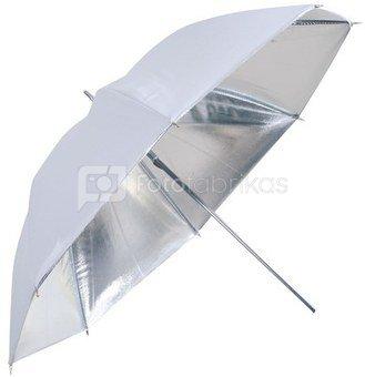 Linkstar Umbrella PUK-84SW Silver/White 100 cm (reversible)