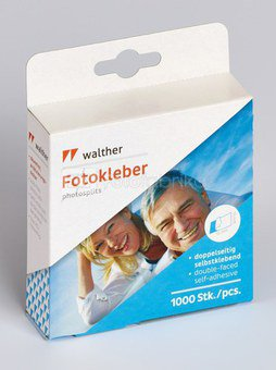 Photosplits WALTHER FT015TA 1000 | self-adhesive | double-faced