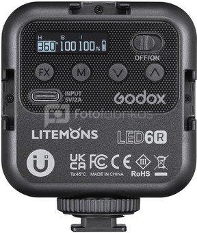 Godox Litemons LED Light(RGB) LED6R