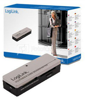 Logilink All-in-1 card reader, USB2.0
