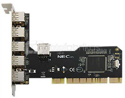 Logilink PC0028, PCI Interface card, 4+1x USB 2.0