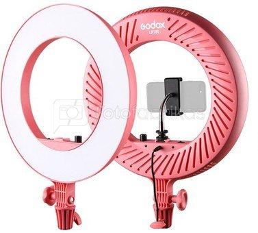 Godox LR180 LED Ring Light Pink