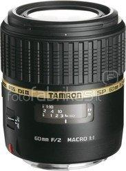 Tamron 60mm F/2.0 SP AF Di II LD (IF) Macro 1:1 (Sony)