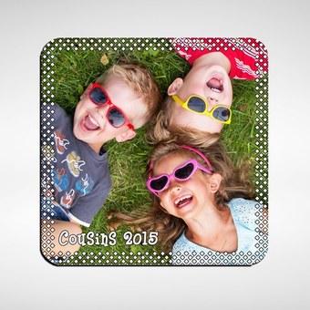 Magnetas su nuotrauka, kvadratinis 50x50mm