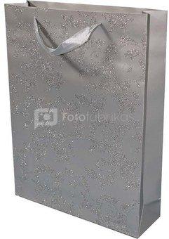 Maišelis pakavimo sidabro spalvos 40x30x9 cm 87975