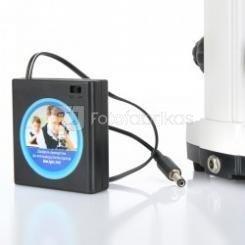 Maitinimas mikroskopo biolight200
