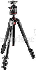 Manfrotto 190 Alu 4 Segments Tripod Kit MK190XPRO4-BHQ2